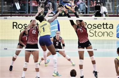 Brasil bate Estados Unidos no tie break e conquista Grand Prix pela décima primeira vez