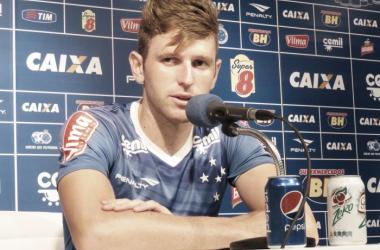 Fabiano aposta na sequência de jogos para continuar evoluindo no Cruzeiro