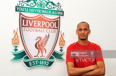 Liverpool confirm Fabinho signing