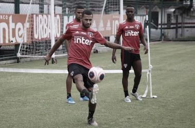 Atacante do São Paulo, Fabinho encaminha acerto com Athletico