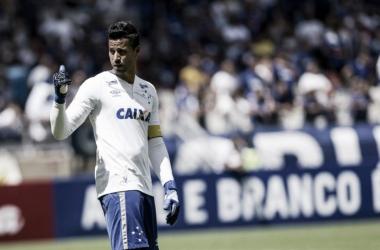 Fábio se lesionou em agosto do ano passado, durante o Brasileirão (Foto: Washington Alves/Light Press Cruzeiro)