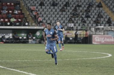 Com boa passagem pelo Marítimo, Fabrício Baiano fala sobre primeiros jogos no Rizespor