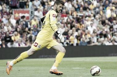 Fabricio recibe el alta. Foto: RC Deportivo.