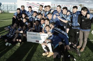 El ultimo partido de Almagro fue por la Copa Argentina frente a Laferrere, ganando por penales | Foto: Copa Argentina
