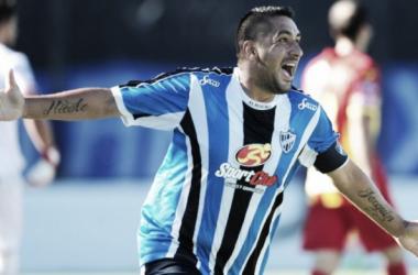 Óscar Altamirano (Foto) convirtió los únicos dos goles de Almagro en el torneo | Foto: Copa Argentina
