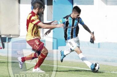 Almagro supo dominar en varios pasajes del partido | Foto: Prensa Almagro