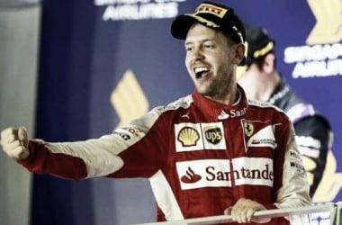 Vetter celebrates his win. (Credit: Telegraph.co.uk)