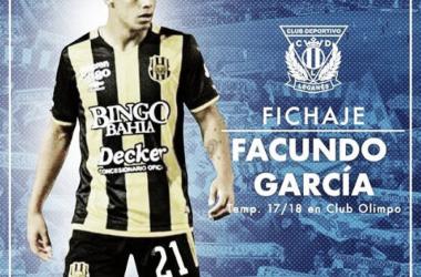 Facundo García | Fuente: CD Leganés