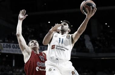 Campazzo quiere reivindicarse ante el Olympiacos (Foto: Euroleague.net)
