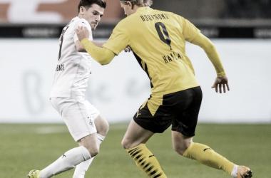 Imagen del último encuentro entre estos dos cuadros / Fuente: BorussiaMönchengladbach