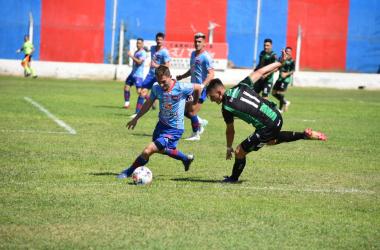 El santo sanjuanino generó ocasiones para llevarse los tres puntos. Sin embargo se vuelve sin sumar.<div>Foto: Prensa Atlético Güemes.</div>