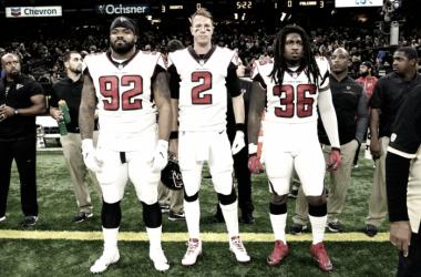 Los Falcons esperan ganar a los Panthers y de esta forma, clasificarse para los play-off. | Foto: Atlanta Falcons