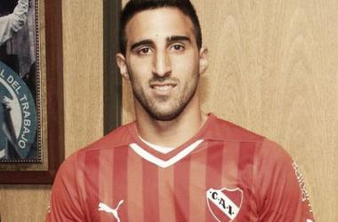 Hernán Pellerano fue la figura del partido ante Olimpia de Paraguay. Foto:@RadioDelPlata