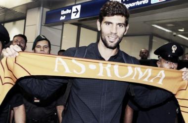 Fazio upon arriving in Rome / Reuters