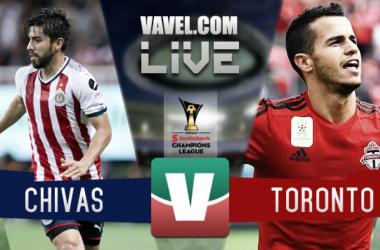 Resumen y goles Chivas vs Toronto en Concachampions 2018 (4)3-3(2)