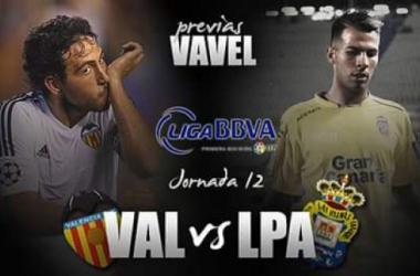 Valencia - Las Palmas: otro plebiscitopara Nuno