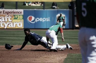 México perdió el primero de dos juegos ante equipos de la MLB. (Foto: Team México Baseball)