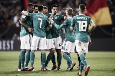 Alemania la actual campeona mundial | Fotografía: Federación Alemana de Fútbol