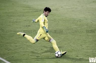 El Real Zaragoza sigue apostando por Cristian Álvarez