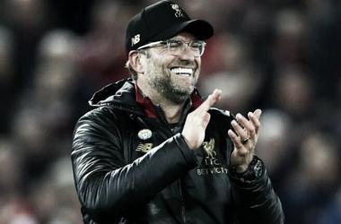 """Kloop também elogiou disputa da partida """"foi digno desde o primeiro minuto"""" (Reprodução / Liverpool)"""