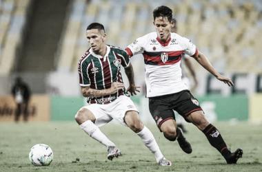 Com vantagem mínima, Fluminense visita Atlético-GO por vaga às oitavas da Copa do Brasil