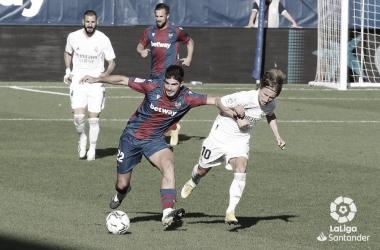 Real Madrid - Levante, sábado 30 de enero a las 16.15 horas | Fuente: LaLiga.es