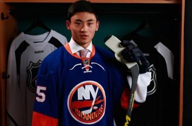 Andong Song, primer jugador nacido en China que es seleccionado en el Draft