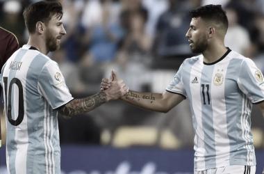 Messi y Agüero con Argentina 2019| Foto: AS Argentina