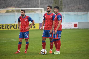 Tamayo, Ballarín y Mateo Arellano. Imagen: Numancia.