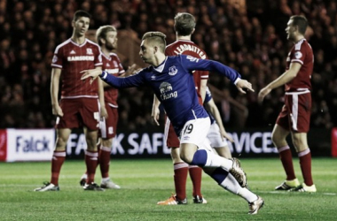 Middlesbrough 0-2 Everton: Deulofeu and Lukaku put Everton into the last four