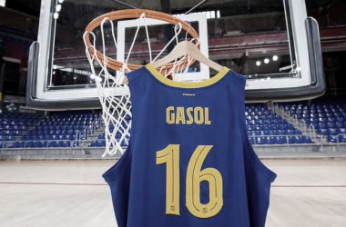 Pau Gasol lucirá el '16' en su regreso al Barcelona | Foto: fcbarcelona.es