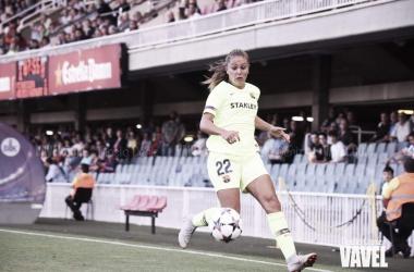 Lieke Martens en la remontada contra el Kazygurt. Foto: VAVEL.com
