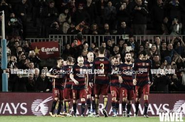 FC Barcelona – RCD Espanyol, puntuaciones Barcelona, 37ª jornada de la liga BBVA