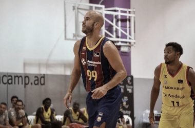 Calathesya lleva la manija del Barça deJasikevicius