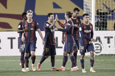 Gols e melhores momentos de Sevilla 2 x 0 Barcelona pela semifinal da Copa del Rey 2020-21