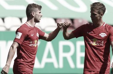 Werner decide, e Leipzig derrota Augsburg na última rodada da Bundesliga