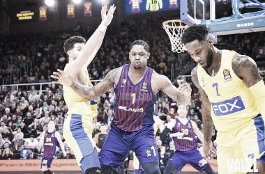 Barcelona-Maccabi, partido de la primera vuelta en el Palau (vía: VAVEL)