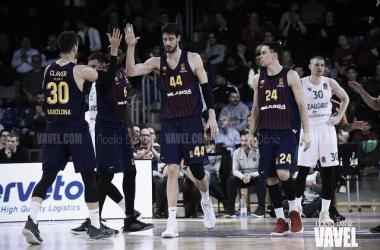 Último partido del Barça en el Palau (vía: VAVEL)
