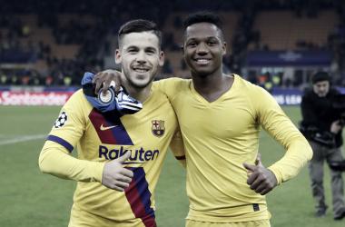 FOTO: Twitter Fútbol Club Barcelona