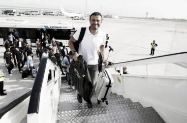 El Barça, debut azul en Roma