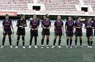 El FC Barcelona Femenino visita al Sporting Club de Huelva | Foto: Tomás Rubia (VAVEL.com)