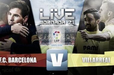 Live Liga BBVA : le match FC Barcelone - Villarreal en direct