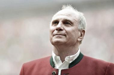 Uli Hoeness, presidente do Bayern de Munique | Foto: Divulgação/FC Bayern