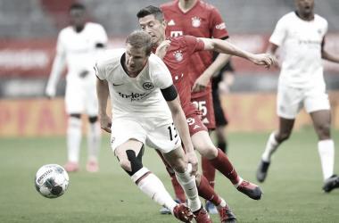 Gols e melhores momentos de Bayern de Munique x Eintracht Frankfurt pela Copa da Alemanha (2-1)
