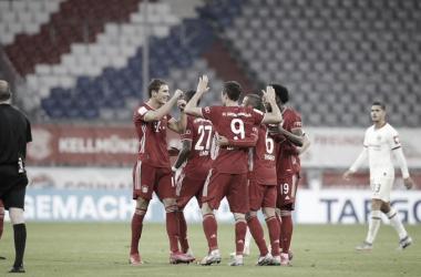 Bayern confirma favoritismo contra Frankfurt e vai à decisão da Copa da Alemanha