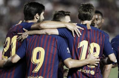 Buenas sensaciones en California para el FC Barcelona en su debut en la International Champions Cup