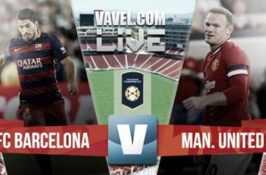 Resultado FC Barcelona - Manchester United en pretemporada 2015 (1-3)