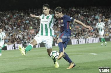 Encuentro entre ambos equipos disputado en el Camp Nou el año pasado | Foto: Ernesto Aradilla - VAVEL