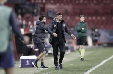 Sergio Conceição em Porto 0 a 2 Chelsea (UEFA / Divulgação)