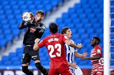 Real Sociedad -Granada CF: puntuaciones del Granada, jornada 9 de LaLiga